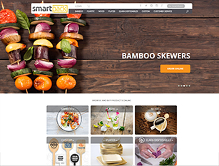 Web Design Sample - SmartPack USA